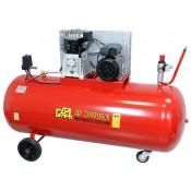 Kompresor olejowy dwutłokowy jednostopniowy 270 litrów Pompa ABAC B-3800B 230V GG530