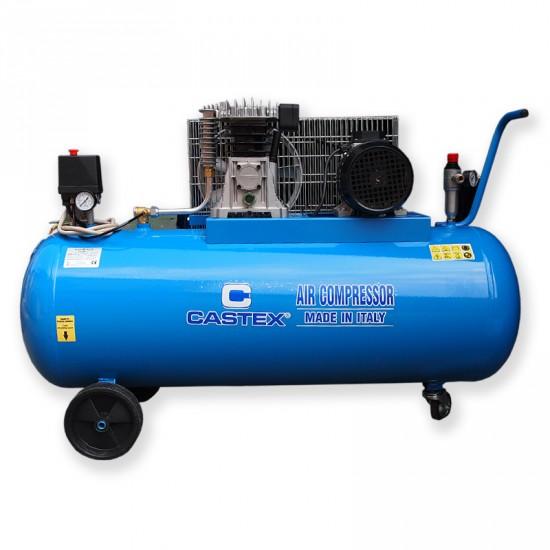 Kompresor olejowy dwutłokowy dwustopniowy 270 litrów z pompą 5900B
