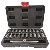Zestaw kluczy do korków spustowych oleju 21 szt. - KBA5106